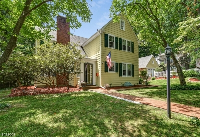 Morristown Single Family Home For Sale: 104 Mills St