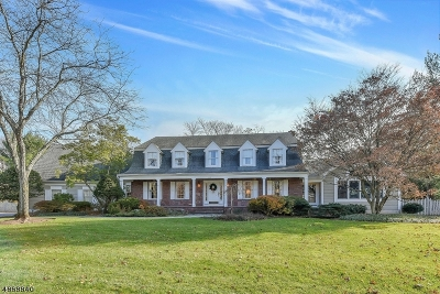 Franklin Lakes Boro Single Family Home For Sale: 979 Lily Pond Ln