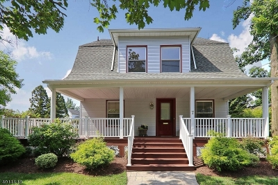 Cranford Twp. Single Family Home For Sale: 7 Claremont Pl