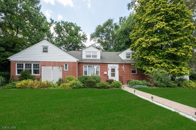 Bound Brook Boro Single Family Home For Sale: 615 Watchung Rd