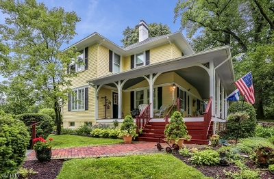 Long Hill Twp Single Family Home For Sale: 1418 Long Hill Rd