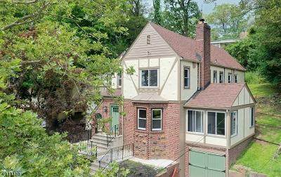 West Orange Twp. Single Family Home For Sale: 41 Burnett Ter