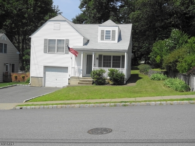 West Caldwell Twp. Single Family Home For Sale: 55 Washington Ave