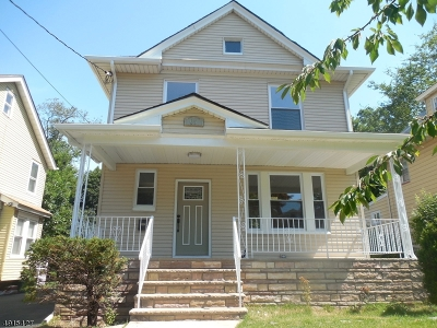 Hillside Twp. Single Family Home Active Under Contract: 65 Mertz Ave
