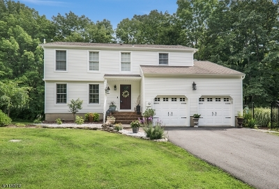 Fredon Twp. Single Family Home For Sale: 18 Warner Rd