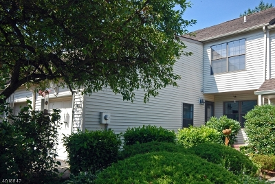 Raritan Twp. Condo/Townhouse For Sale: 406 Hawthorne Ct