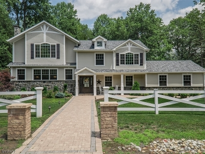 Wyckoff Twp. Single Family Home For Sale: 198 Fox Hollow Rd