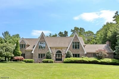 Franklin Lakes Boro Single Family Home For Sale: 712 Horseshoe Trl