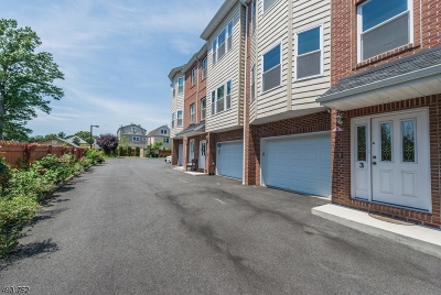 Belleville Twp. NJ Condo/Townhouse For Sale: $320,000