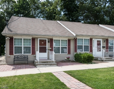 Morris County Condo/Townhouse For Sale: 58 Stoll St