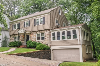 West Orange Twp. NJ Single Family Home For Sale: $449,000