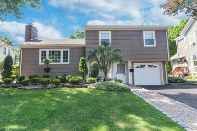 Nutley Twp. NJ Single Family Home For Sale: $459,900