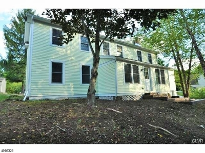 East Amwell Twp. Single Family Home For Sale: 318 Wertsville Rd