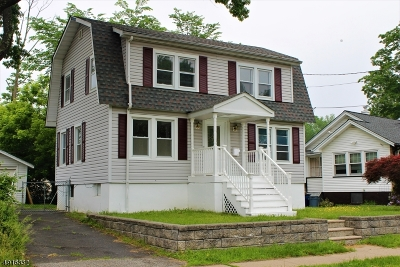 West Caldwell Twp. Single Family Home For Sale: 7 Dodd Rd