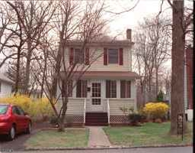 West Orange Twp. NJ Single Family Home For Sale: $300,000