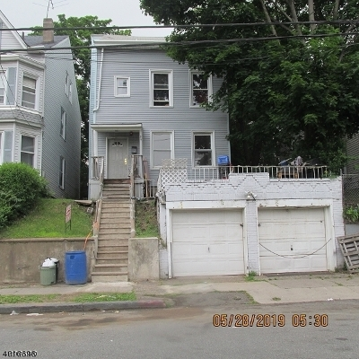 Paterson City Multi Family Home For Sale: 85-87 N 3rd St
