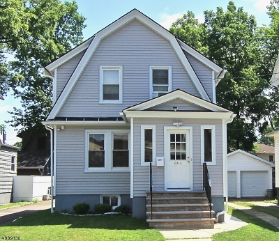 Maplewood Twp. Single Family Home For Sale: 806 Prospect St