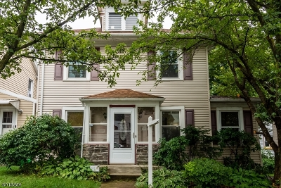 Boonton Town Single Family Home For Sale: 231 Church St