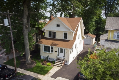 Kearny Town Single Family Home For Sale: 161 Seeley Ave