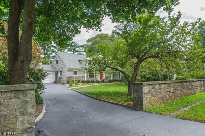 Madison Boro Single Family Home For Sale: 183 Woodland Rd
