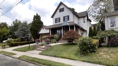 Kearny Town Single Family Home For Sale: 34 Alpine Pl