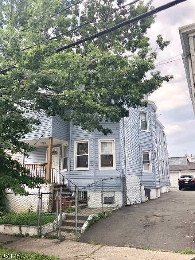 Paterson City Multi Family Home For Sale: 321-323 E 21st St