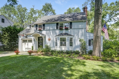 Chatham Boro Single Family Home For Sale: 16 Edgewood Rd