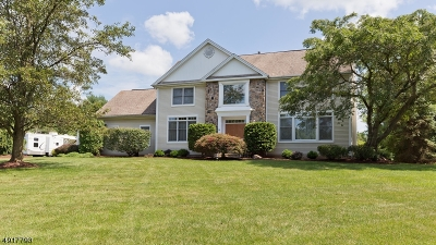 Branchburg Twp. Single Family Home For Sale: 18 Fieldpointe Dr