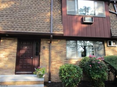 Clifton City Condo/Townhouse For Sale: 148 Allwood Rd #2B