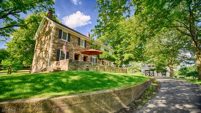 Franklin Twp. Single Family Home For Sale: 8 Pine Hill Rd