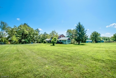 Tewksbury Twp. Single Family Home For Sale: 33 Hill & Dale Road