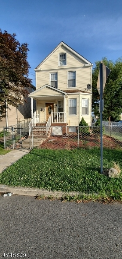 Clifton City Single Family Home For Sale: 35 Franklin Ave