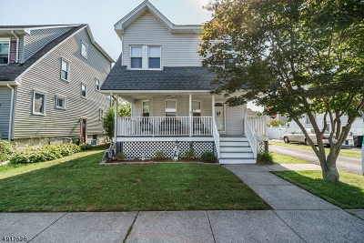 Cranford Twp. Single Family Home For Sale: 35 Stratford Ter
