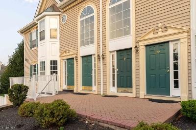 Branchburg Twp. Condo/Townhouse For Sale: 1117 Magnolia Ln
