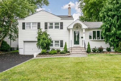 Cranford Twp. Single Family Home For Sale: 8 Connecticut St