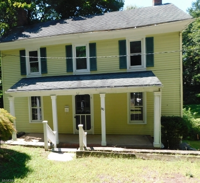 Bethlehem Twp., High Bridge Boro Single Family Home For Sale: 40 Taylor St