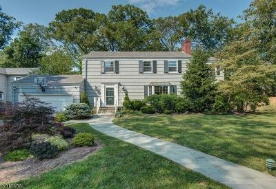 South Orange Village Twp. Single Family Home For Sale: 27 Hoskier Rd