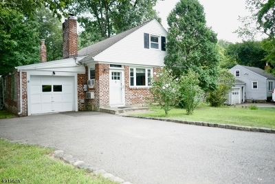Boonton Twp. Single Family Home For Sale: 884 Boonton Ave