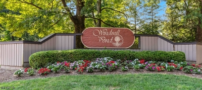 Morristown Condo/Townhouse For Sale: 36 Windmill Dr