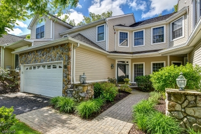 Livingston Twp. Condo/Townhouse For Sale: 47 Winged Foot Dr