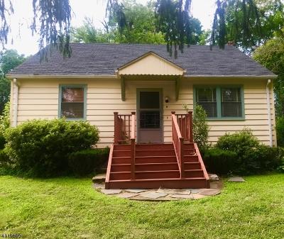 Raritan Twp. Single Family Home For Sale: 5 Mill Brook Pl