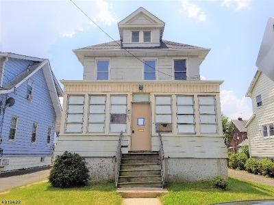 Union County, Essex County, Hunterdon County, Morris County, Passaic County, Somerset County, Sussex County, Warren County, Bergen County, Hudson, Mercer , Middlesex Single Family Home For Sale: 756-758 Floral Ave