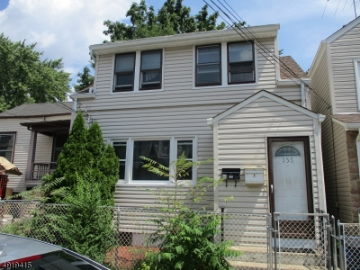 Paterson City Single Family Home For Sale: 156 Jasper St
