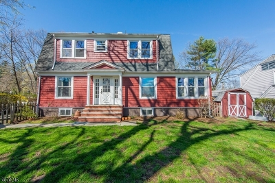 Boonton Town Single Family Home For Sale: 163 Reservoir Dr