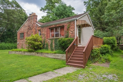 Boonton Twp. Single Family Home Active Under Contract: 9 Overlook Rd