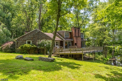 Mendham Boro, Mendham Twp. Single Family Home For Sale: 78 Mountainside Rd