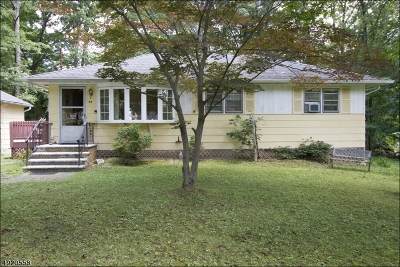 Sparta Twp. Single Family Home For Sale: 79 Edison Rd