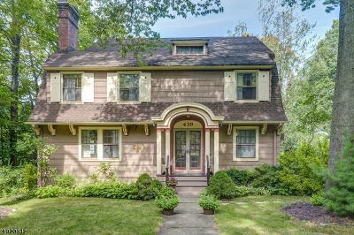 Maplewood Twp. Single Family Home For Sale: 439 Richmond Ave