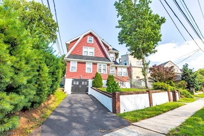 Kearny Town Single Family Home For Sale: 37 N Midland Ave