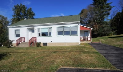 High Bridge Boro Single Family Home For Sale: 74 Beavers St